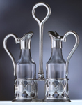 art. 51710 Olio aceto/oil & vinegar set h. cm 25.5
