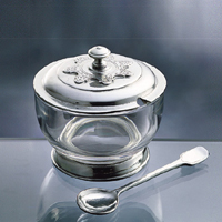 art. 52230 formaggiera c/cucchiaio/ grated cheese holder w/spoon d. 11